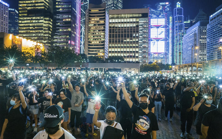 Hong Kong Protesters Resume Chorus Of Opposition To