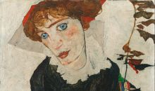 Portrait of Wally by Egon Schiele.