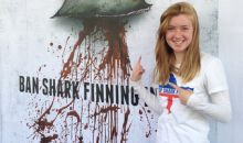 Ban on shark finning.