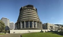 The Beehive, Wellington New Zealand by Photo NZ