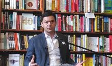 Thomas Piketty giving a book reading