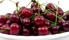 A bowl of cherries