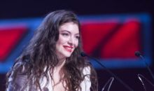 Lorde at NZ Music Awards
