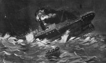 The SS Ventnor Image Auckland Library