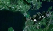 Rotorua from space by NASA