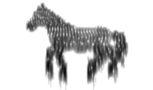 Sound picture of a horse.