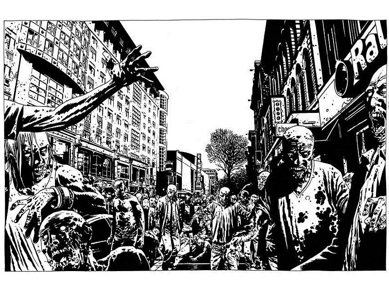 charlie adlard From nine to nine 14 october 2014 charlie adlard is a british comic book artist and penciller, known for his work on the long-running image comics series the walking dead.