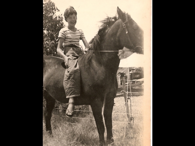 Full 0004 2456869 as child in ureweras riding horse