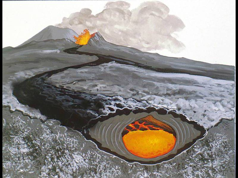 Lava Tuves and Lava River Cave |Lava Tubes Are Formed How