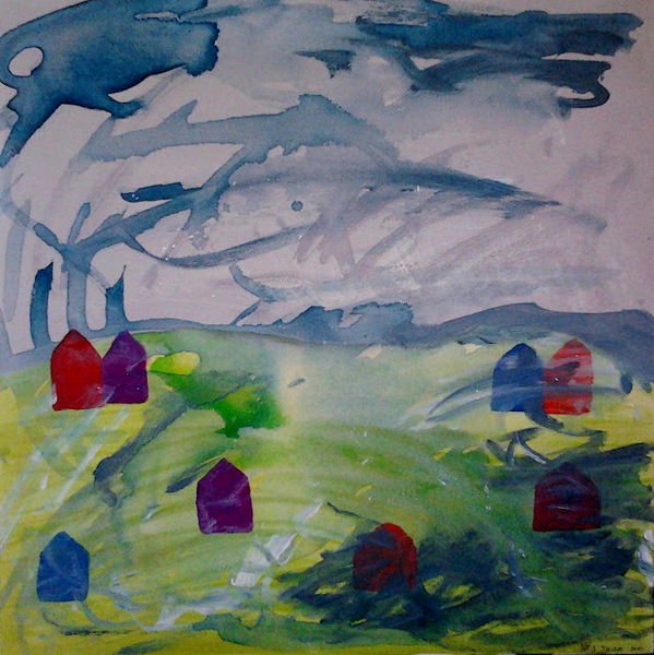 Full 2014 wallace art trust acquisition weather the storm acrylic on canvas 76 x 76cm yaniv janson