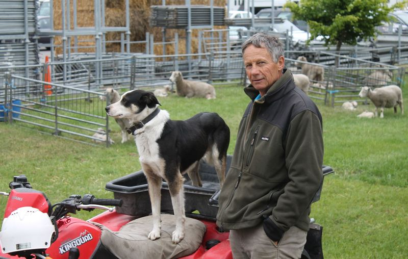 Full richard fisher and his dog ice at the maternity ward