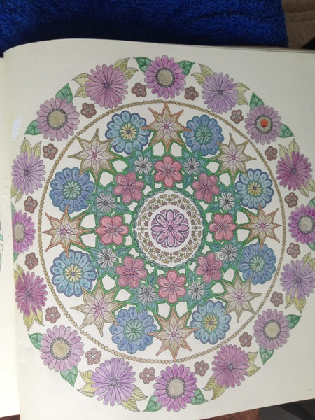 Lynn Freemans Colouring In From Johanna Basfords The Secret Garden Metallic Pens Pencils