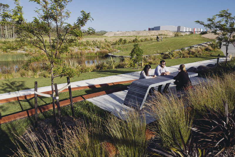 Auckland firm wins two top design gongs for Landscape design west auckland