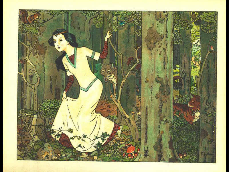 Grimm 39 s fairy tales rnz for Blanche neige miroir miroir streaming