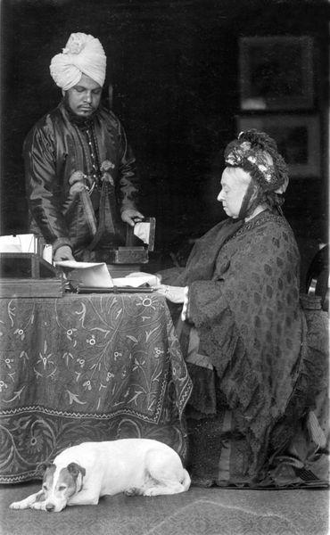 Queen Victoria And Abdul
