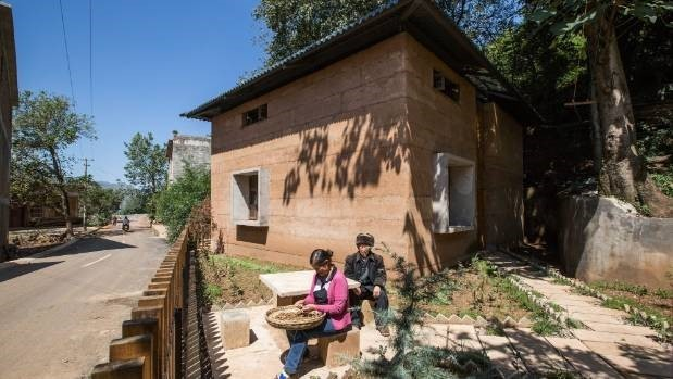 The case for rammed earth houses | RNZ Rammed Earth House Plans Nz on permaculture house plans, art house plans, earth block house plans, winery house plans, house house plans, sustainability house plans, earthen homes plans, earthbag house plans, earthships house plans, structurally insulated panels house plans, stick style house plans, sod house plans, straw bale house plans, recycled materials house plans, clay house plans, passive solar house plans, 20' x 70' house plans, rustic texas style house plans, earth home plans, faswall house plans,