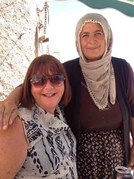 Full ruth lockwood with turkish village woman