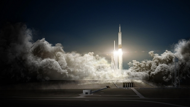 Full falcon heavy and dragon %28spacex public domain%29