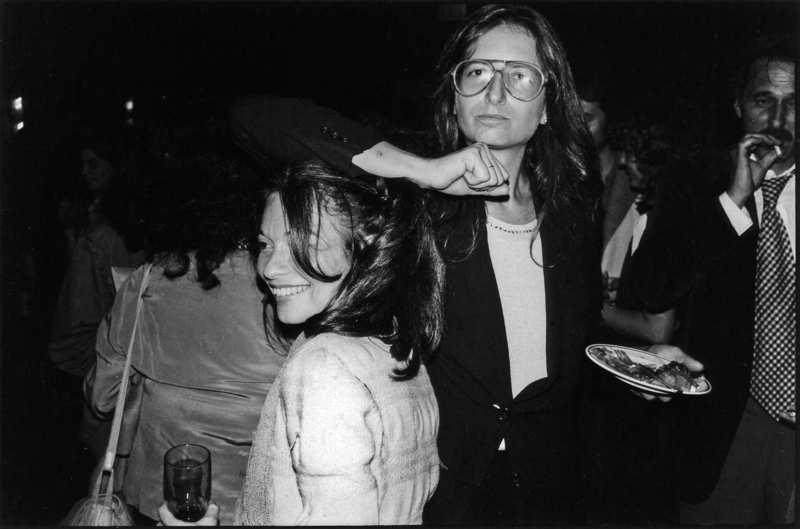 Jane Wenner And Annie Leibovitz 1977 Jean Pigozzi