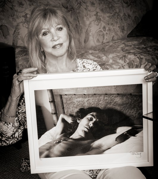 Full pattie with photo she took of george harrison
