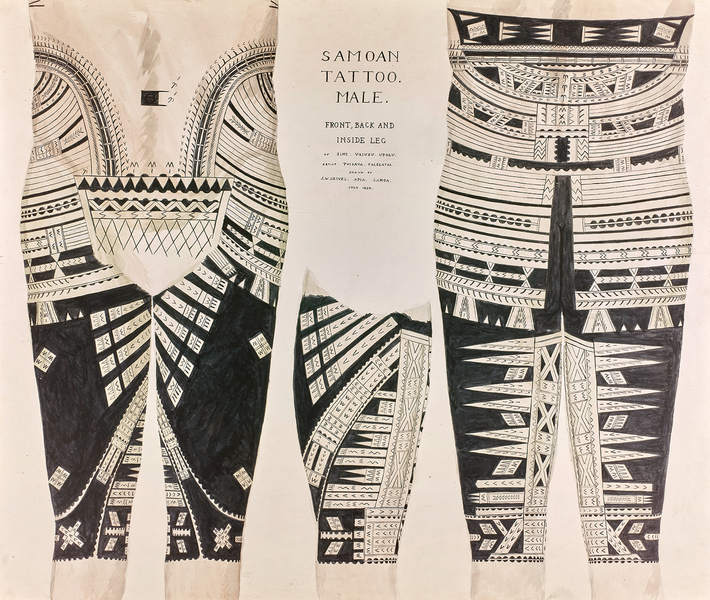The Story Of Samoan Tattooing Rnz News