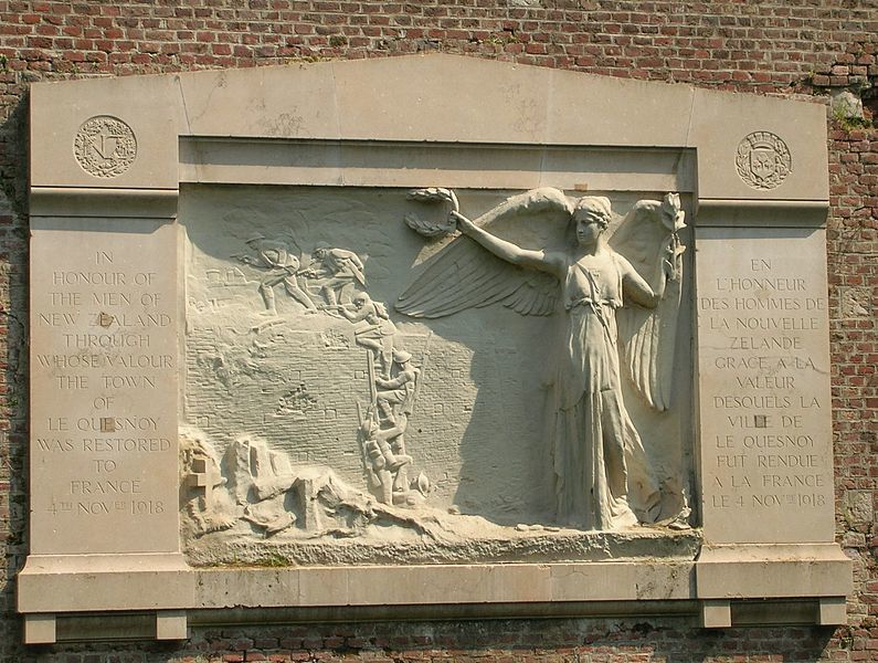 Full the new zealand memorial at le quesnoy today  wikimedia commons    copy