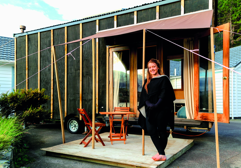 Bryce Langston - The beauty of tiny houses | RNZ