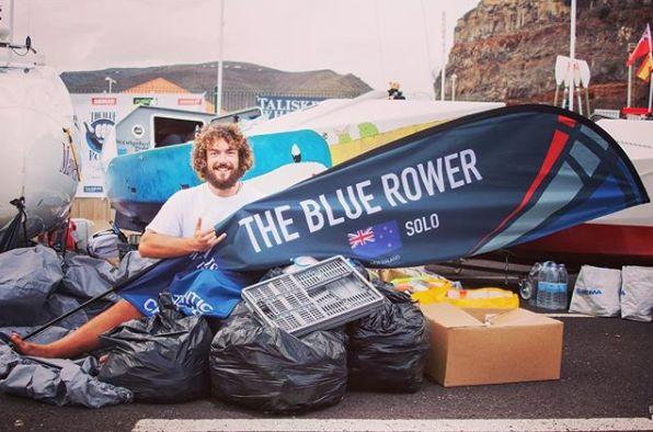 Full the blue rower