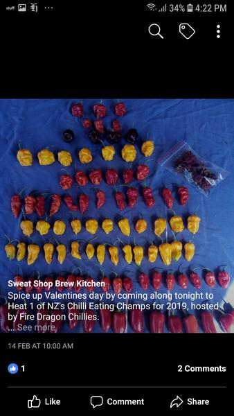 Full chilli table w