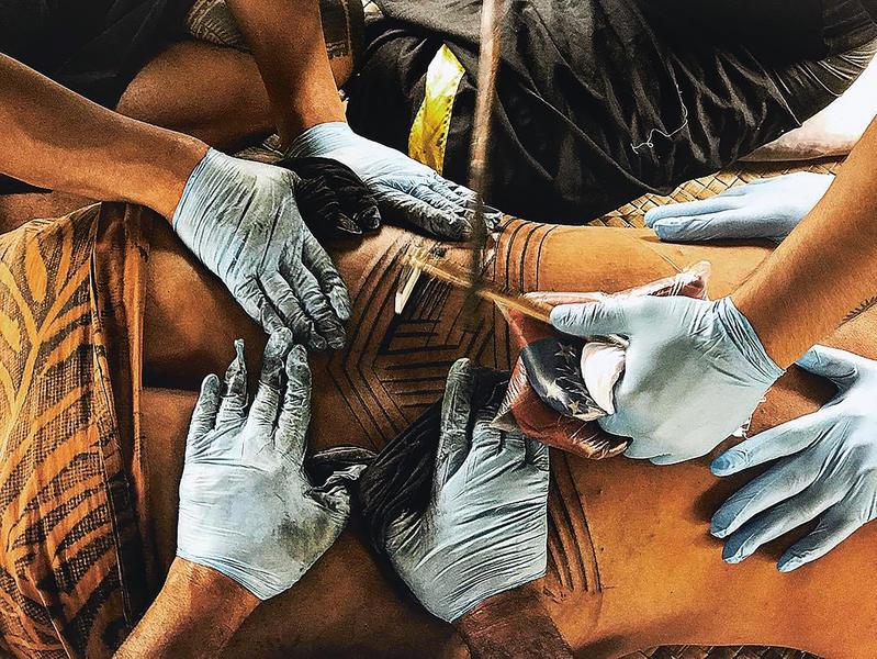Sean Mallon Tatau A History Of Samoan Tattooing Rnz