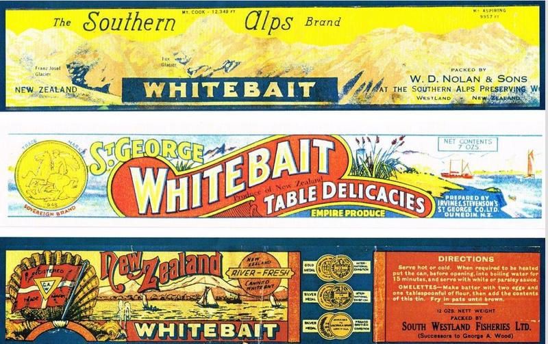 Full whitebait can labels