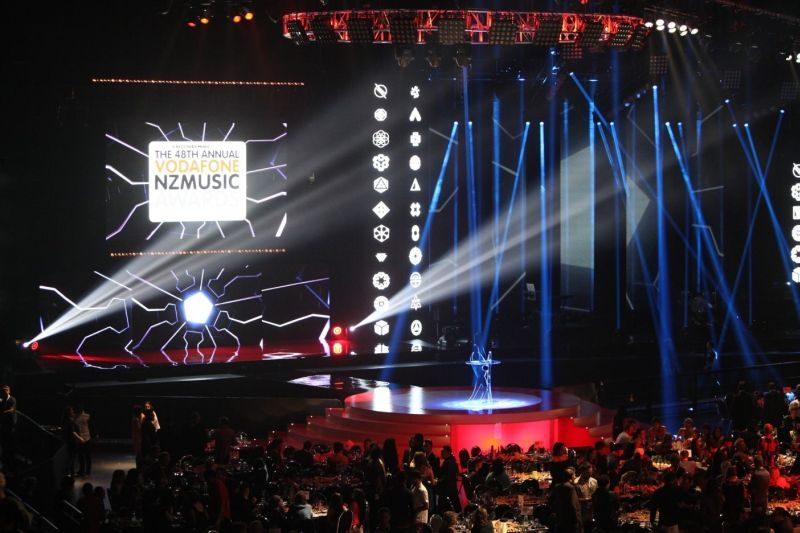 Full nz music awards 2013 stage and audience by jason hailes 008 800