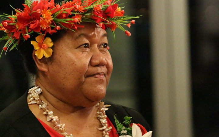 Niue High Commissioner to New Zealand O'Love Jacobsen