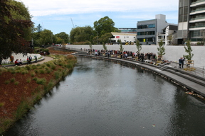 The Canterbury Earthquake National Memorial has been officially unveiled.