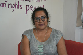 Nalini Singh, Chair of NGO Coalition for Human Rights in Fiji.
