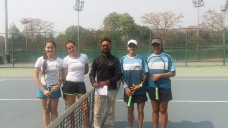 Pacific Oceania are competing at a Junior Fed Cup pre-qualifying tournament in India.