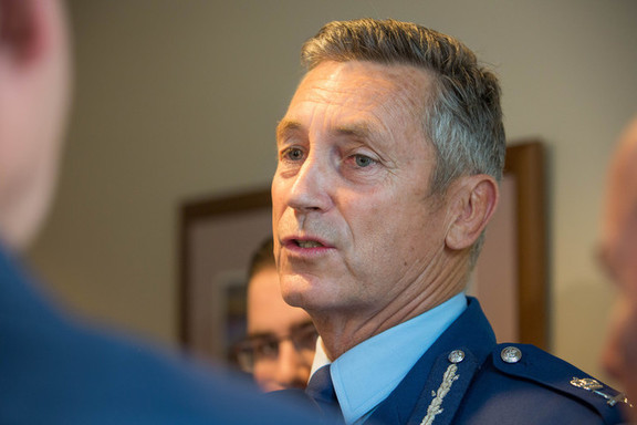 Police Commissioner Mike Bush