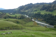 The site of the proposed Ruataniwha Dam.