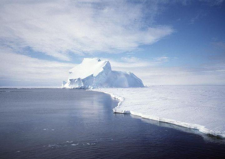 The Riiser-Larsen Ice Shelf in Antarctica