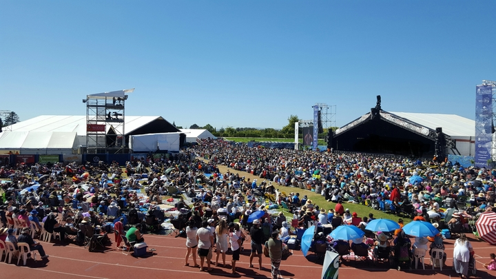 Thousands have flocked to this year's Te Matatini National Kapa Haka competition in Hastings.