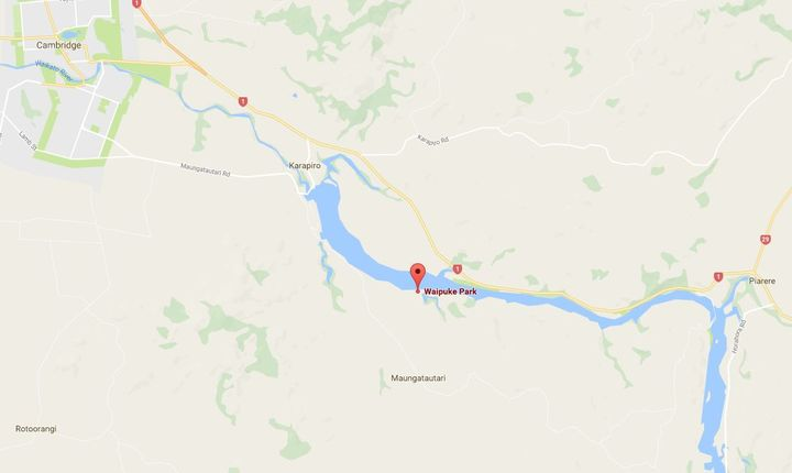 The search has been focused on the Waipuke Reserve area of Lake Karapiro.