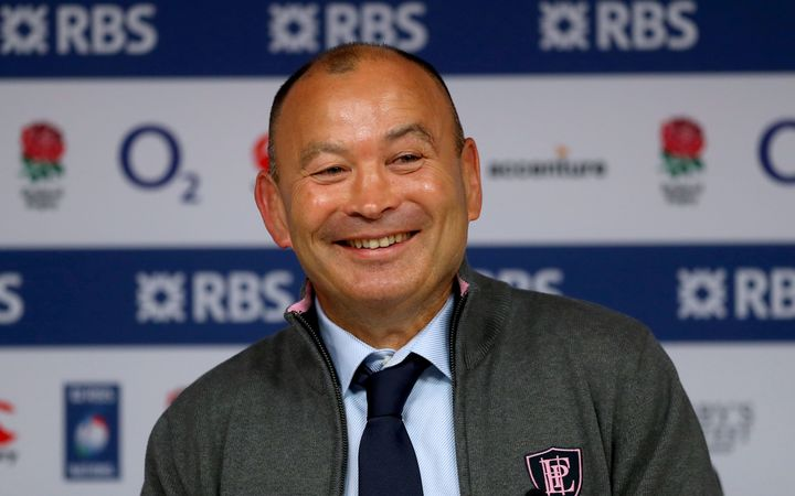 England rugby coach Eddie Jones.