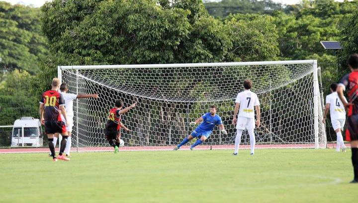 Puaikura opened the scoring from the penalty spot.