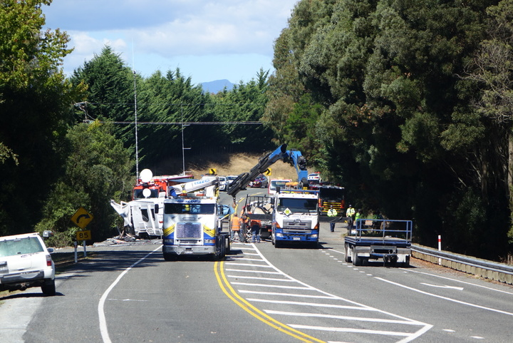 At least five people have been injured in a crash between Richmond and Mapua on the Coastal Highway in Tasman District