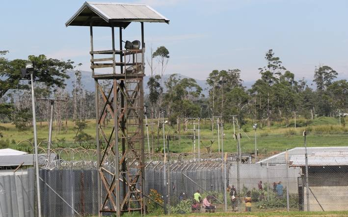 The Baisu Correctional Facility in Mt Hagen in Papua New Guinea.