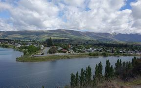 The Central Otago town of Cromwell.