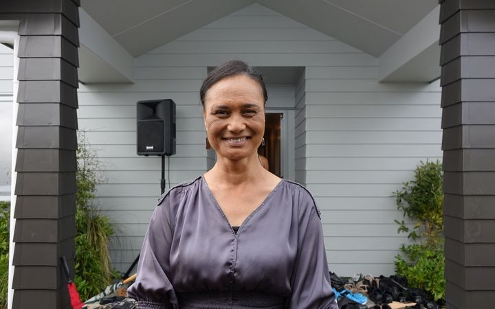 Rangitamoana Wilson, one of 19 whānau members living at the new papakainga.