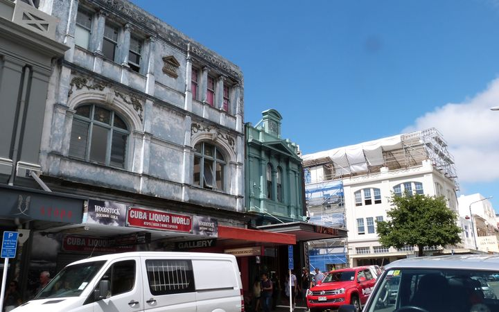 Wellington's Cuba Street is one of 38 streets that has been named as needing work.