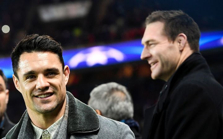 Dan Carter and Ali Williams.