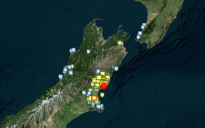 Geonet said the 5.2 shallow earthquake was 'severe'.